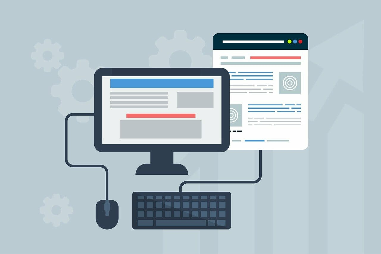 site web en responsive design.