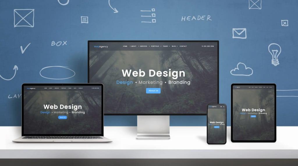 La création de site web dans le monde en 2020 - Infographie Bew Web Agency